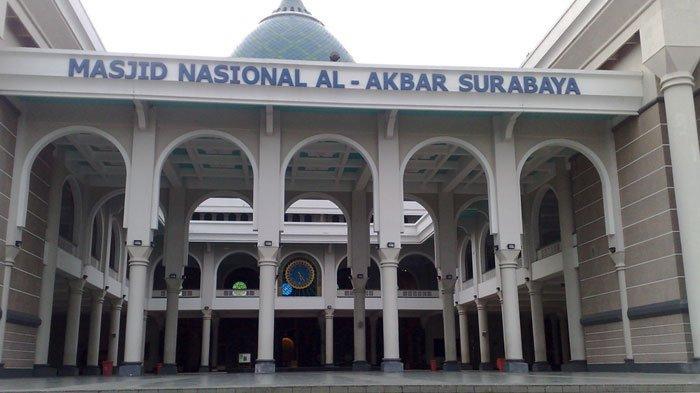 Masjid Al Akbar Surabaya Buka Pelaksanaan Salat Tarawih Berjemaah, Jumlah Jemaah Dibatasi 25 Persen