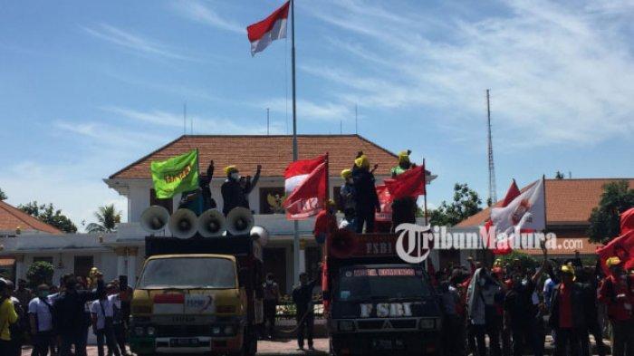 GETOL Jawa Timur Soroti Buruh Sengsara akibat Covid-19, 2500 Massa Turun Jika Omnibus Law Dibahas