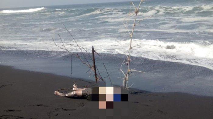 Mayatdi Pantai Pandanwangi Lumajang Merupakan Korban Hilang selama 5 Hari diPantai Bambang