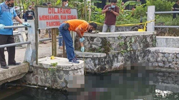Hendak Buang Air, Pria ini Malah Temukan Mayat Perempuan di Sungai, ada Sepeda dan Botol Obat Rumput