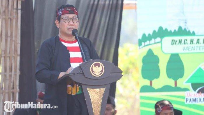 Menteri Desa, Abdul Halim Iskandar Beri Apresiasi untuk Kepala Desa se-Pamekasan Terkait Pembagunan
