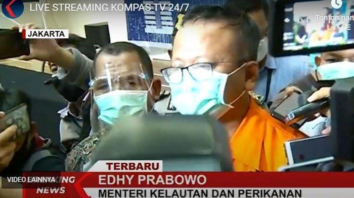 Permintaan Maaf Edhy Prabowo ke Jokowi dan Mundur dari Jabatan Menteri dan Partai Usai Ditangkap KPK