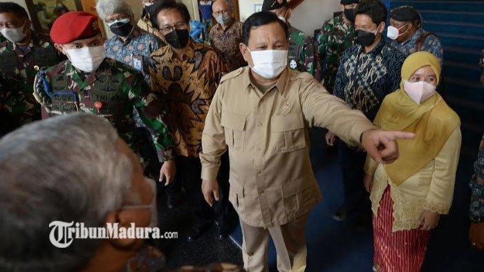 Kunjungi ITS Surabaya, Menhan Prabowo Tertarik Inovasi Anak Bangsa Mulai Vaksin Hingga Motor Listrik