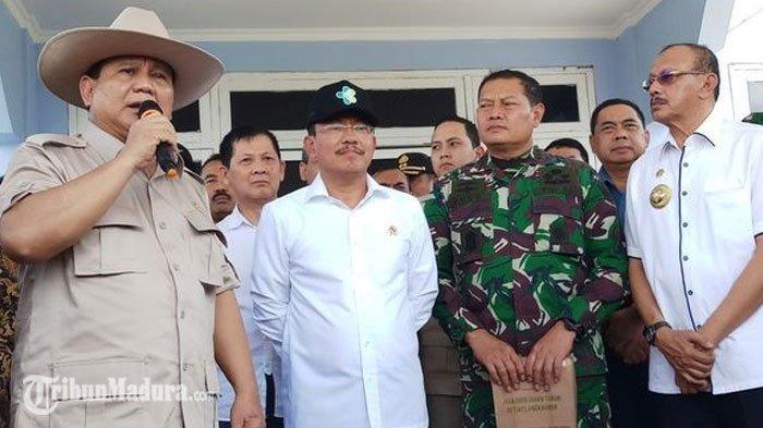 Prabowo Subianto Sampaikan Maaf Kepada WNI yang ada di Natuna, Sebutkan Alasnnya Tak Bisa Interaksi