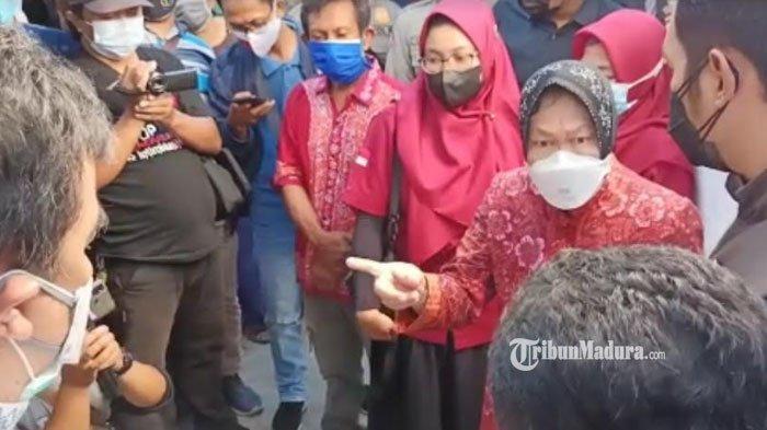 Risma Marah Temukan Kejanggalan Penyaluran BPNT di Tuban yang Dibagikan 2 Bulan: Saya Bongkar Ini