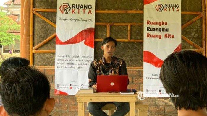Komunitas Ruang Kita Gelar Pelatihan Menulis Cerpen Bahasa Madura, Harap Bahasa Lokal Tetap Lestari