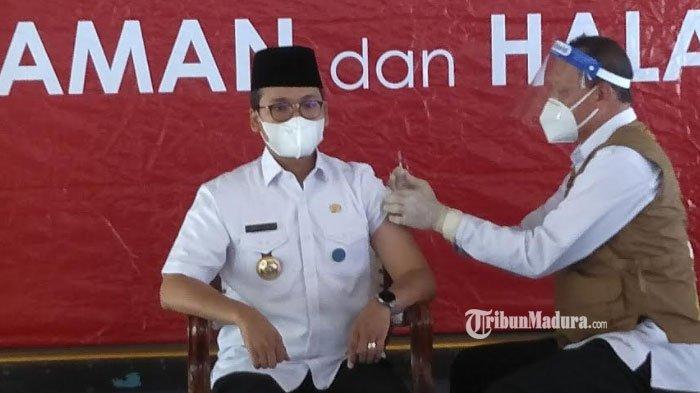 Vaksinasi Covid-19 Dosis Kedua di Bangkalan, 1.045 Tenaga Kesehatan Gagal Divaksin, Ini Penyebabnya