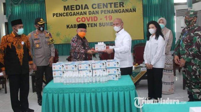 Ketua Banggar DPR RI Salurkan Bantuan 500 Juta Lebih untuk Penanganan Covid-19 di Sumenep