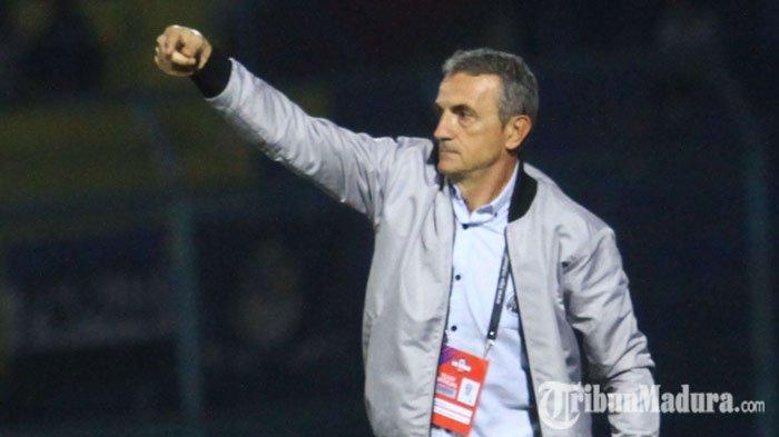 LagaPersib Bandung Vs Arema FC Ditunda, PelatihMilomir Seslija Ungkap Sisi Positif Bagi Timnya