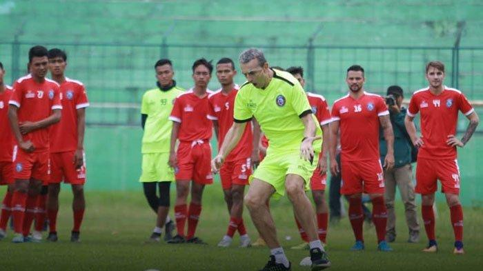Arema FC Dijadwalkan Menggelar Latihan Perdana setelah Libur Lebaran di Stadion Gajayana Senin Besok