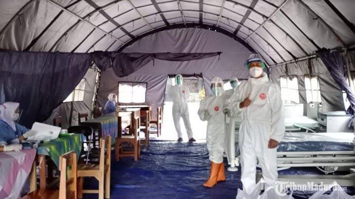 Banyak Santri Ponpes Darussalam Blokagung Banyuwangi Positif Covid-19, Pemkab Bangun Mini Hospital