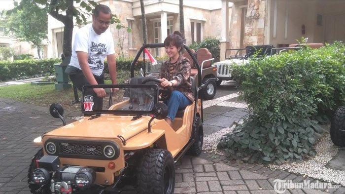 Mini Jip,Kendaraan Jeep Ukuran Kecil denganATVBidik Konsumen Kalangan Menengah ke Atas