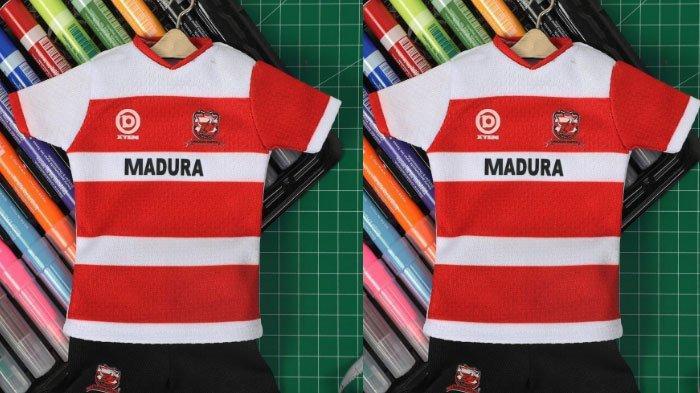 Madura United Luncurkan Miniatur Jersey, Cocok untuk Koleksi Pajangan, Simak Spesifikasinya