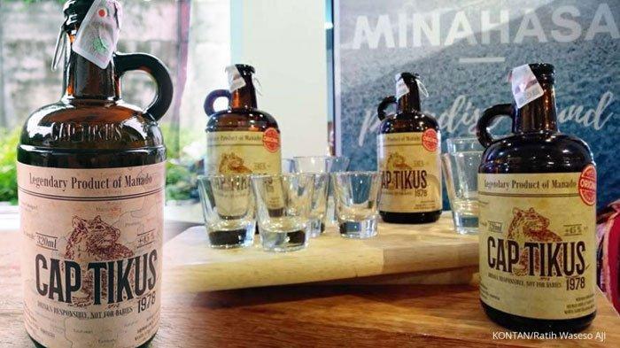 Gak Nyangka, Minuman Keras Fermentasi Cap Tikus Kini Mulai Merambah ke Pasar Mancanegara