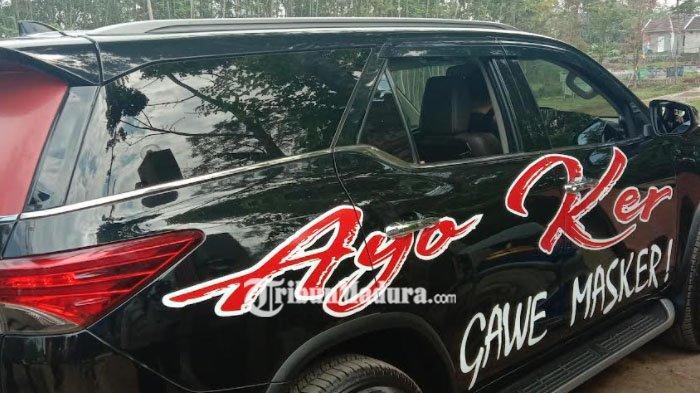 Mengintip Mobil Dinas Kapolresta Malang Kota yang Jadi Alat Kampanye Prokes