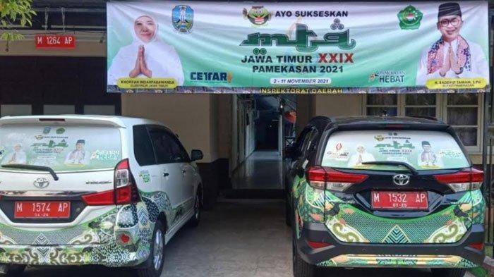 Sambut MTQ XXIX, Kota Pamekasan Bersolek dengan Gaya Artistik, Mobil Dinas Ikut Dibranding