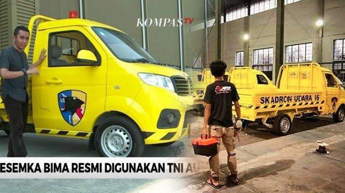 Mobil Esemka Bima Dibeli oleh TNI AU 35 Unit, Langsung Dimodifikasi dan Diberi Lambang Khusus