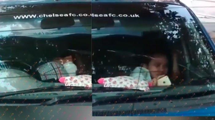 VIRAL Video Oknum Pegawai Pemkab Panik Kepergok 'Mobil Goyang' di Pinggir Pantai, Langsung Kabur