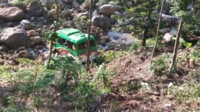 Penyuluh Agama Kecelakan Ajaib, Mobil Hyundai Masuk Jurang Pacitan 30 Meter, 24 Penumpang Tidak Apa2