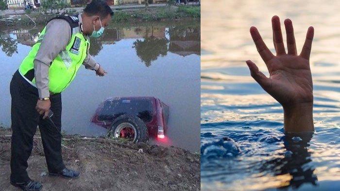 Belajar Nyetir Berujung Maut, Wanita Pengantin Baru Tewas Usai Mobilnya Tercebur di Sungai