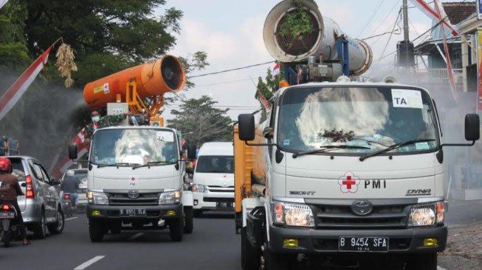 Mobil Penyemprot Disinfektan Kembali Didatangkan ke Jember, Sasar Tempat Ibadah hingga Perkantoran