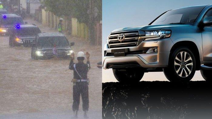 Segini Harga Mobil Presiden Jokowi yang Digunakan Menerjang Banjir di Kalimantan Selatan