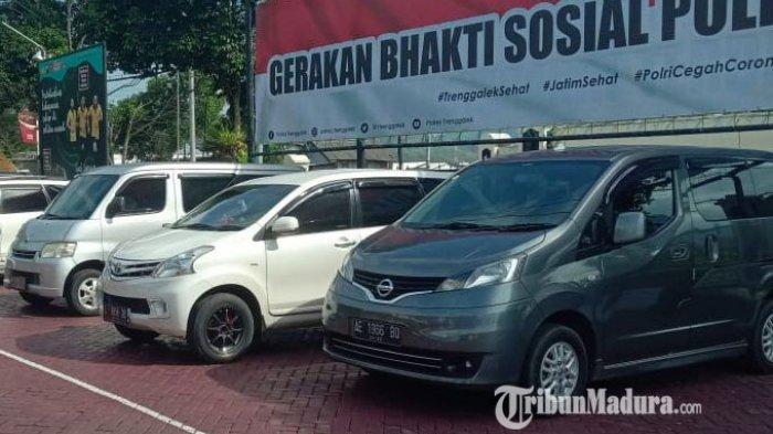 Selama Arus Mudik Lebaran, Polres Trenggalek Tilang 11 Travel Gelap dari Surabaya, Sidoarjo & Malang