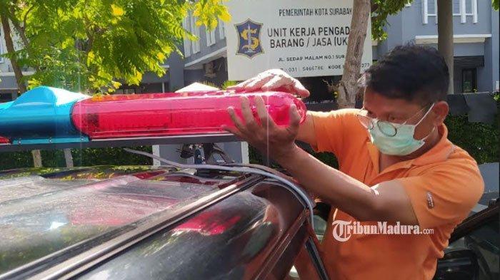 Maksimalkan Pelayanan Masyarakat, Puluhan Kendaraan Dinas Pemkot Surabaya Disulap Jadi Mobil Jenazah