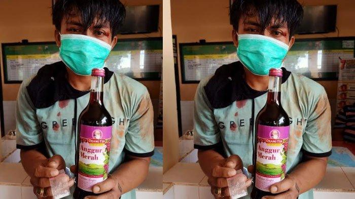 Peredaran Narkoba Marak, Polisi Tangkap Warga Sumenep, Temukan Plastik Klip Isi Sabu & Anggur Merah