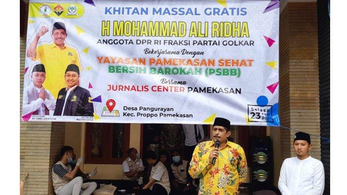 Gandeng Anggota DPR Muhammad Ali Ridha, Yayasan PSBB dan JCP Gelar Khitan Gratis di Proppo Pamekasan