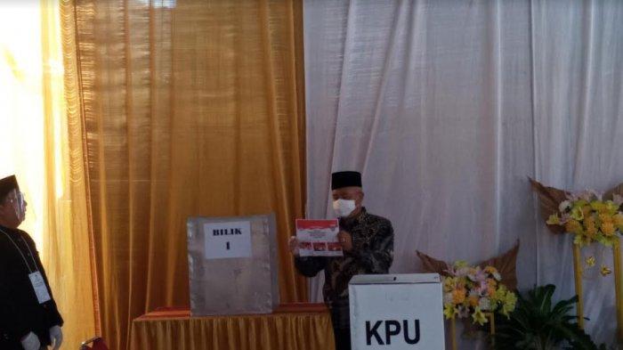 Ajak Warga Nyoblos di TPS, Muhammad Sanusi Optimistis Menang Telak di Pilkada Malang 2020