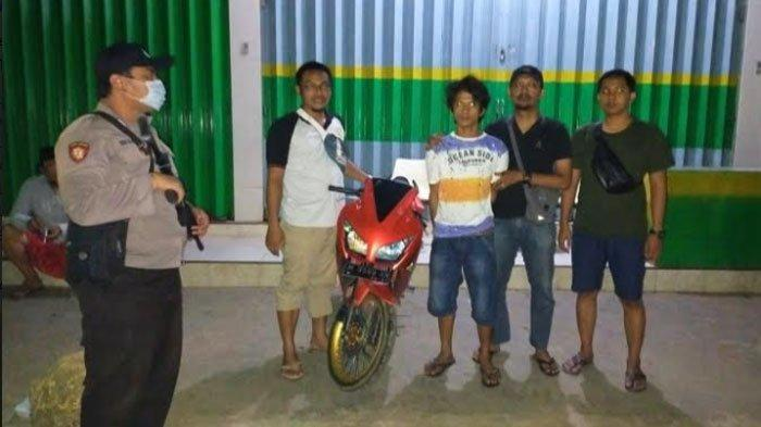 Warga Batumarmar Pamekasan Ditangkap Polisi, Pinjam Sepeda Motor Teman Lalu Gadaikan ke Orang Lain