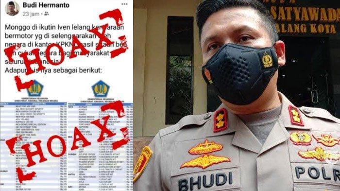 Muncul Akun Facebook Palsu Mengatasnamakan Kapolresta Malang Kota, Ajak Warga Ikut Pelelangan Barang