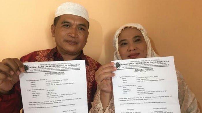 Kisah Perjuangan Pasangan Suami Istri Lawan Virus Corona, Petik Pelajaran Berharga selama Isolasi
