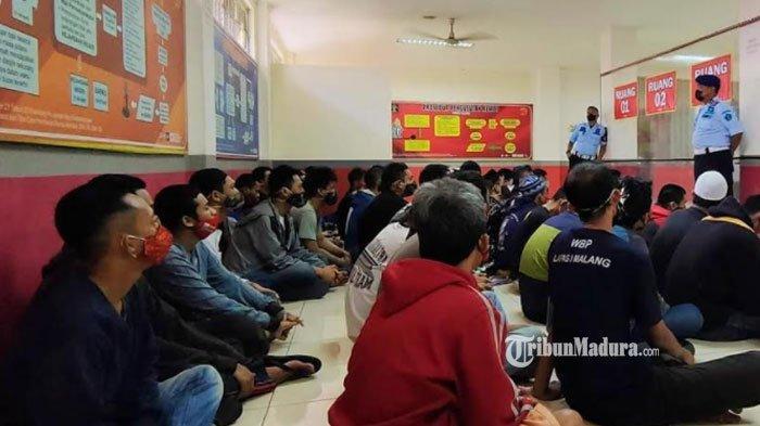 Lapas Narkotika Pamekasan Terima 50 Napi Pindahan dari Lapas Malang, Tahanan Diisolasi Lebih Dulu