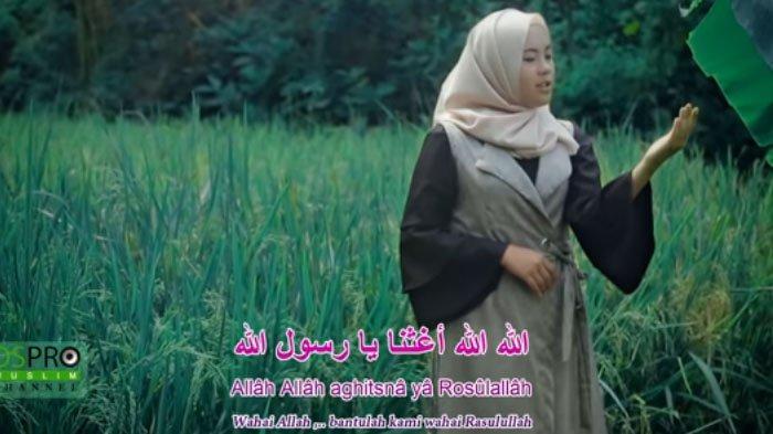 Lagu MP3 Allah Allah Aghisna Trending di Youtube, Dinyanyikan Nazwa Maulidia, Simak Lirik dan Chord