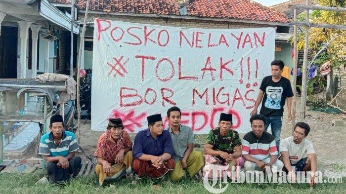 Nelayan Desa Tanjung Pamekasan Tolak Adanya Rencana Pengeboran MIGAS, Dirikan Posko untuk Antisipasi