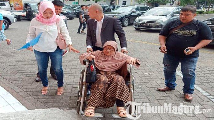 Memilukan, Nenek Renta 82 Tahun Istri Purnawirawan TNI AL Ditetapkan Tersangka Polrestabes Surabaya