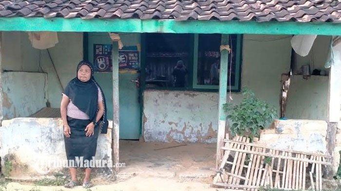 Kisah Siti Rohemah Warga Pamekasan Sebatang Kara Karena Belum Menikah, Kini Tinggal di Rumah Reyot