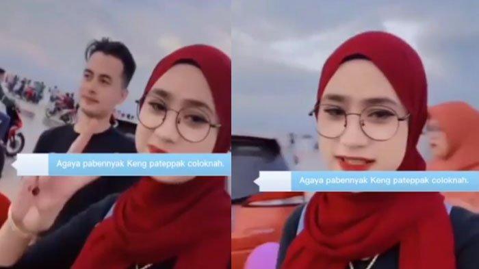 Viral Selebgram Ucapkan 'Banyak Rakyat Jelata' di Pantai Camplong, Novita Sari Jadi Sorotan Netizen