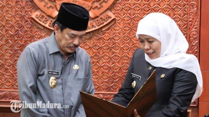 Cak Nur Meninggal, Khofifah Langsung Tunjuk Sekda Sidoarjo untuk Isi Kekosongan Pemimpin Sidoarjo