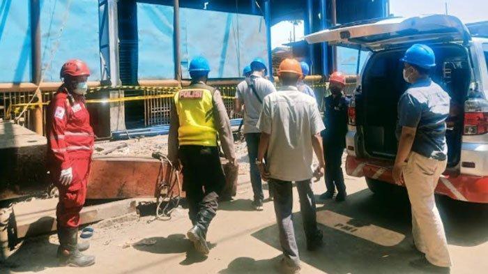Jatuh dari Ketinggian 4 Meter, Pekerja di Surabaya Meninggal Dunia, Alami Luka Parah pada Kepala