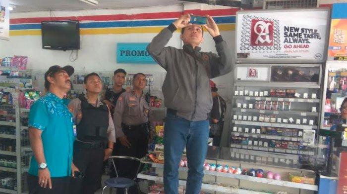 Minimarket diTulungagungDibobol Maling,Pelaku Terekam CCTV Bawa Karung untukBawa Rokok Curian