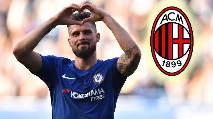 AC Milan Gaet Olivier Giroud dari Chelsea untuk Rekan Ibrahimovic, Lanjut Bek Real Madrid Diincar