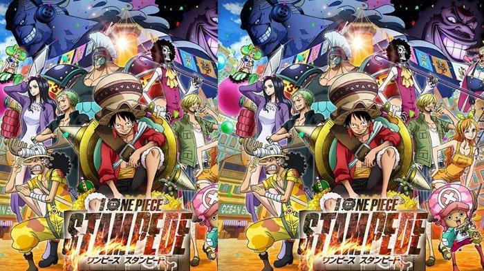 One Piece: Stampede Tayang di Indonesia, Sinopsis dan Trailer, Petualangan Luffy Berebut Harta Karun
