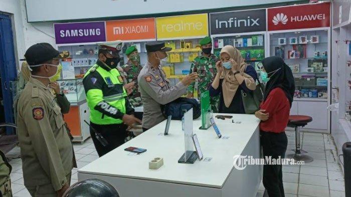 Hasil Operasi Yustisi Kafe dan Warung di Pamekasan, Masih Banyak Masyarakat Tak Patuh Prokes