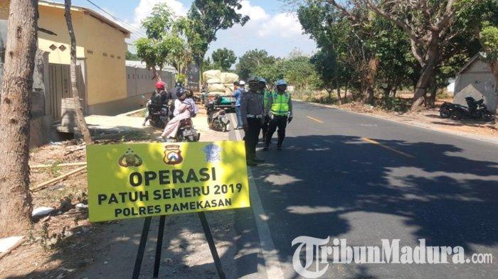 Seminggu Operasi Patuh Semeru, Ribuan Pelanggar Lalu Lintas di Pamekasan Ditindak, Berikut Daftarnya