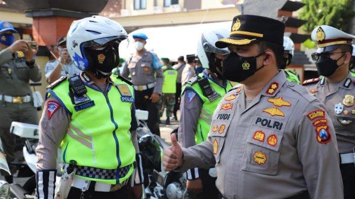 Operasi Patuh Semeru 2021 di Kota Kediri, Polisi Kedepankan Keselamatan Pengguna Jalan dan Prokes