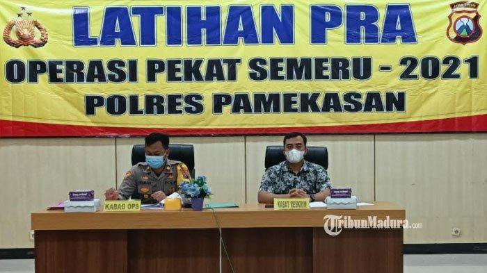 Pra Operasi Pekat Semeru 2021, Antisipasi Premanisme hingga Prostitusi di Pamekasan Jelang Ramadan