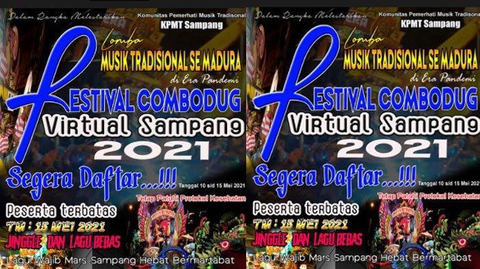 KPMT Sampang Gelar Lomba Musik Tradisional Festival Combodug Virtual, Simak Jadwal Pelaksanaannya